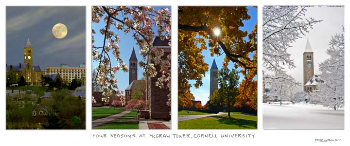 Four Seasons at McGraw Tower, Cornell University