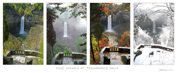 Four Seasons at Taughannock Falls